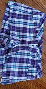 Multiple color blue shorts